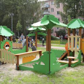 Детская площадка Раменское, ул.Коммунистической, дд.1-3, 2009 г._9