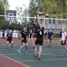 Открытие спортивной площадки в д. Юрово_5