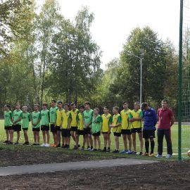 Открытие спортивной площадки в д. Юрово_6