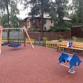 Детская площадка Раменское, ул. Серова, д. 51, 2019 г._12