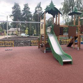 Детская площадка Раменское, ул. Серова, д. 51, 2019 г._13