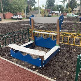 Детская площадка Раменское, ул. Серова, д. 51, 2019 г._14