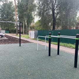 Детская площадка Раменское, ул. Серова, д. 51, 2019 г._18