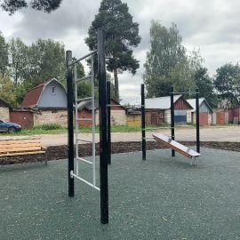 Детская площадка Раменское, ул. Серова, д. 51, 2019 г._19