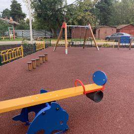 Детская площадка Раменское, ул. Серова, д. 51, 2019 г._20