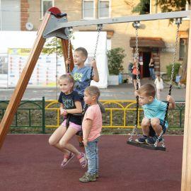 Детская площадка Раменское, ул. Серова, д. 51, 2019 г._4